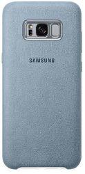Samsung Alcantara Cover EF-XG955 Galaxy S8+ zelený