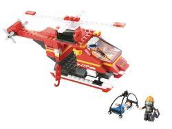 Sluban helikoptéra 155 dílů
