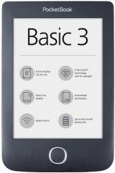 PocketBook 614+ Basic 3 černá