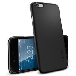 Spigen iPhone 6/6S Case Thin Fit, černá
