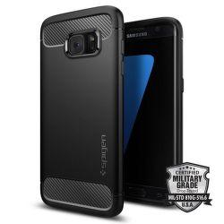 Spigen Samsung Galaxy S7 Edge Case Rugged Armor, černá