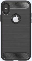 Winner zadní kryt Carbon pro iPhone X a iPhone Xs, černá