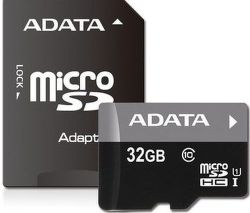 ADATA Premier microSDHC 32GB UHS-1 Class 10 + adaptér
