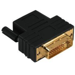 Hama redukce DVI-D (samec)/HDMI (samice) pozlacená 34035