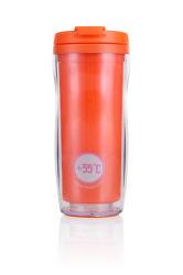 Les Artistes Paris A-3016 oranžový termohrnek (330 ml)