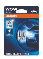 OSRAM W5W COOL BLUE INTENSE 12V 5W Autožárovka 2ks