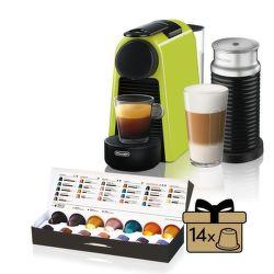 Nespresso De'Longhi Essenza Mini EN85.LAE Aeroccino3 vystavený kus splnou zárukou