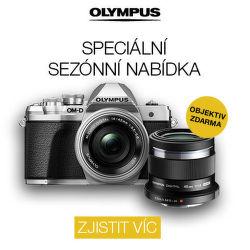Speciální sezónní nabídka Olympus