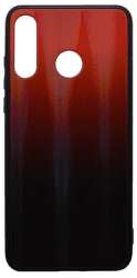 Mobilnet Gradient pouzdro pro Huawei P30 Lite, červená