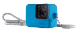 GoPro Silikonový obal s poutkem, modrá