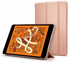 Spigen Smart Fold pouzdro pro Apple iPad mini 2019 růžově zlatá