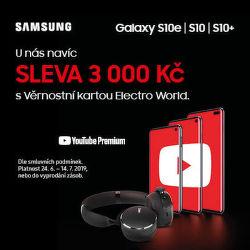 Sleva 3 000 Kč na Samsung Galaxy S10e / S10 / S10+ pro Věrnostní zákazníky