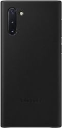 Samsung Leather Cover pro Samsung Galaxy Note10, černá