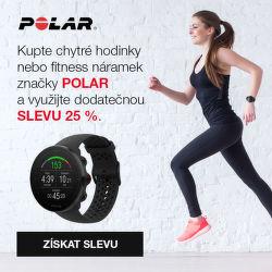 Dodatečná 25 % sleva na produkty Polar