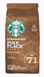 Starbucks Pike Place Roast zrnková káva (200g)