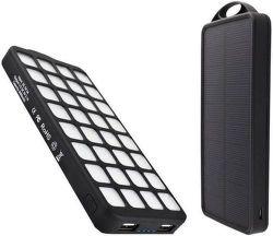 Viking solární outdoorová powerbank W08 8000 mAh, černá