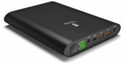 Viking Smartech II notebooková powerbanka 40 000 mAh QC 3.0, černá
