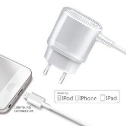 Cestovní nabíječka CELLY s konektorem Apple Ligtning, 1 A