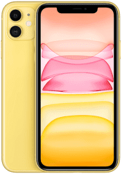Apple iPhone 11 128 GB Yellow žlutý