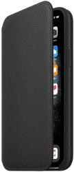 Apple kožené pouzdro Folio pro iPhone 11 Pro, černé