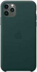 Apple kožený kryt pro iPhone 11 Pro Max, zelený