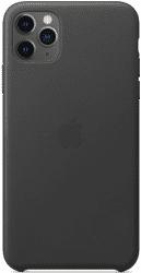 Apple kožený kryt pro iPhone 11 Pro Max, černá