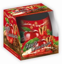 Sweet Home Jablko Škoricav vonní svíčka