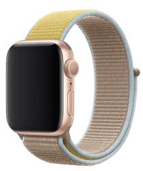 Apple Watch 40 mm sportovní provlékací řemínek, hnědobéžový