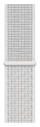 Apple Watch 40 mm Nike sportovní provlékací řemínek, sněhově bílý