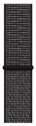 Apple Watch 44 mm Nike sportovní provlékací řemínek, černý