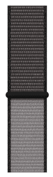 Apple Watch 44 mm sportovní provlékací řemínek extra velký, černošedý