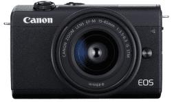 Canon EOS M200 černá + Canon EF-M 15-45mm IS STM