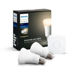 Philips Hue White 9 W E27 malý starter kit