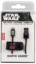 Tribe Lightning kabel 120 cm, Darth Vader