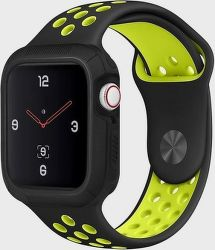 Uniq Proteger 44 mm pouzdro pro Apple Watch Series 4, černá