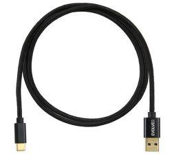 Evolveo USB-C 3.2/USB-A černý