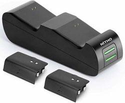 Nitho XB1-CST1-K nabíjecí stanice pro herní ovladače Xbox One