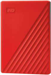 "WD My Passport 2,5"" 2TB USB 3.2 červený"
