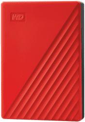 "WD My Passport 2,5"" 4TB USB 3.2 červený"