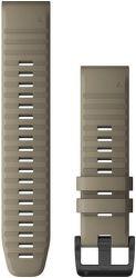Garmin Quickfit 22 mm silikonový řemínek pro Fénix 6, šedá