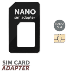 Mobilnet SIM adaptér nano SIM - mini SIM