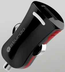 Sturdo ProSport mini autonabíječka 2A 1x USB, černá