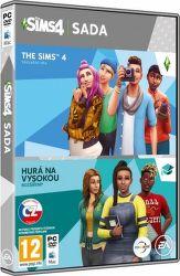 The Sims 4 + rozšíření The Sims 4: Hurá na vysokou - PC hra