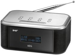 AEG MRC 4148 DAB+ černo-stříbrný
