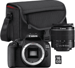 Canon EOS 2000D Value Up Kit EF-S 18-55 mm f/3.5-5.6 DC III + Canon SB 130 + paměťová karta 16 GB