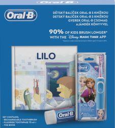 Oral-B Vitality D100 Vitality Kids Frozen + knižka a pasta