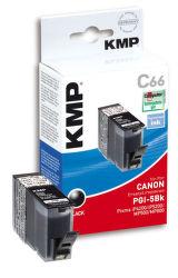 KMP C66 komp.recykl.náplň PGI-5Bk