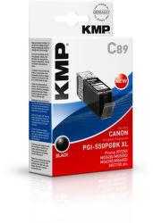 KMP C89 komp.recykl.napln PGI-550PGBK