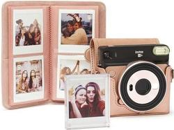 Fujifilm Instax SQ6 Kit, růžovo-zlatá
