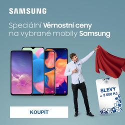 Speciální Věrnostní ceny na vybrané mobily Samsung
